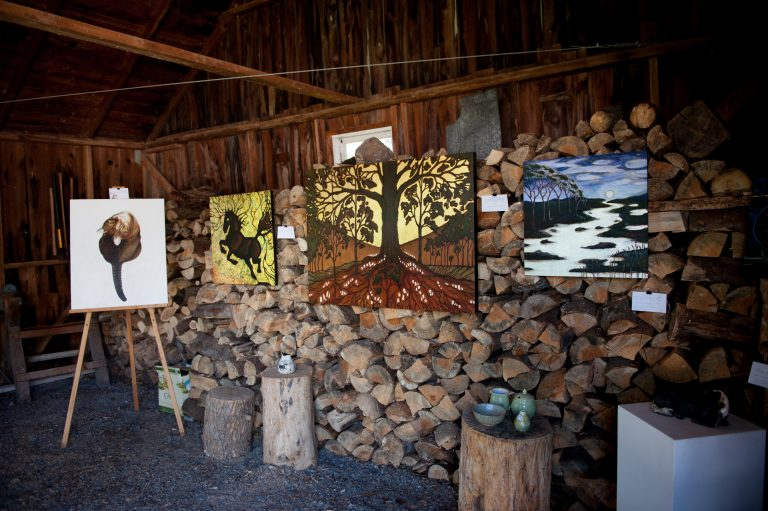 Local Artist Display - Erica Taylor, Aino Lutter and John Clark Sims